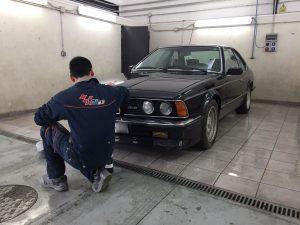 Puesta a punto BMW M6 E24